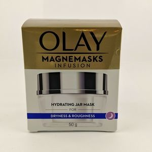 Olay Magnemasks Infusion Hydrating Jar Mask for Dryness & Roughness 50g